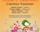 30.11 – Concert Educativ sustinut de Cvartetul Transilvan