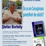 27-29.11 – Lansari de carte si conferinta la Uniunea Scriitorilor Romani Cluj