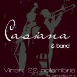 22.11 – Concert Casiana Horopciuc & Band in La Cizmarie