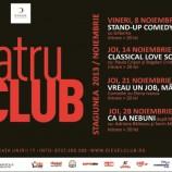 8-28.11 – Teatru de Club in Diesel. Programul lunii Noiembrie