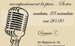 23.11 – Seara de Karaoke in Doamna T