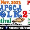 7-9.11 – Napoca Folk Festival 2013 se tine in locatii diferite