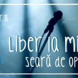 24.11 – Seara de Open Mic in La Perne