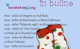 14.12 – Maraton de Ateliere în Incubator107 Cluj
