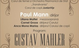 """17.01 Simfonia a III-a de Mahler cu Orchestra şi Corul de femei al Filarmonicii  """"Transilvania"""" şi Junior VIP"""