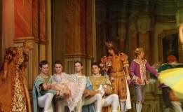 VIDEO Frumoasa din pădurea adormită – balerinii ruși au dansat spectaculos pe scena Teatrului