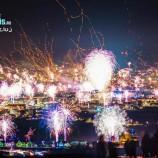 VIDEO Cum s-a văzut noaptea de Revelion de sus. Time lapse spectaculos la Cluj-Napoca