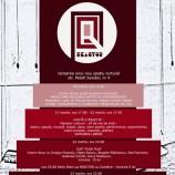 20.03-23.03  Lansarea spațiului cultural alternativ Reactor