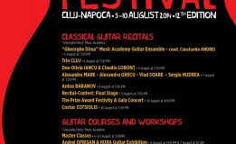 05.08–10.08  Transilvania International Guitar Festival
