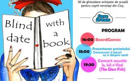 """06.09 Eveniment caritabil inedit la Cluj: """"Blind Date with a Book"""""""