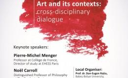 04.09-06.09  Arta si contextele sale: dialog transdisciplinar