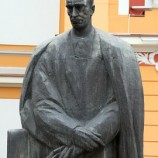 The Statue of Lucian Blaga
