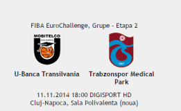 11.11 U-Banca Transilvania – Trabzonspor Medical Park