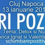 13.01 Seri pozitive: Detox si Nutritie