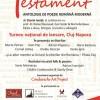 22.01 Testament- Antologie de Poezie Română Modernă
