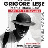 07.03 Grigore Leşe, în primul turneu naţional