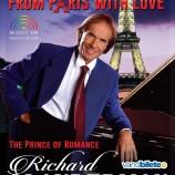 28.03 Concert Richard Clayderman – cel mai de succes pianist al lumii cântă pentru clujeni