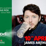 10.04 Concert: James Arthur