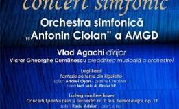 """28.05 Concert simfonic al Academiei de Muzică """"Gheorghe Dima"""""""