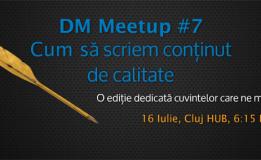 16.07 Digital Marketing Meetup