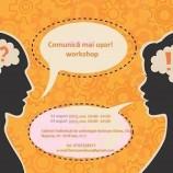 22-23.08 Workshop: Comunică mai ușor!