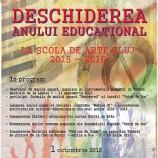 01.10 Deschiderea noului an educațional al Școlii Populare de Artă