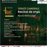 17.10 Recital de orgă
