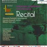 18.10 Recital Panoramic Componistic