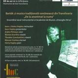 22.10 Bartók şi muzica tradiţională românească din Transilvania