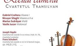12.12 Recital cameral: Cvartetul Transilvan