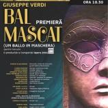 13.12 Operă: Bal Mascat – Premiera
