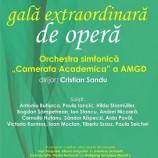 14.01 Gală extraordinară de operă