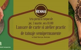 03.03 Workshop: Henna – Arta Picturii Corporale