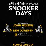 04.03 Meci de Snooker: Betfair Romania Snooker Days