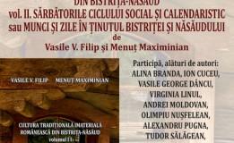 03.03 Lasnsare de carte: Cultura traditionala imateriala din Bistrita-Nasaud