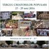 27-29.05 Târgul Creatorilor Populari