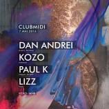 07.05 Party: Dan Andrei / Kozo / Paul K / Lizz