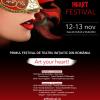 12-13.11 Festivalul de Teatru Initiatic HEART