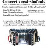 18.11 Concert vocal-simfonic