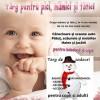 10.12 Targ pentru pici, mamici si tatici si targ de cadouri