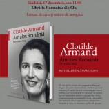 17.12 Lansare de carte – Clotilde Armand