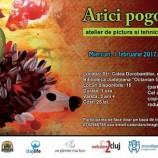 01.02 Atelier de pictura pentru copii: Arici Pogonici