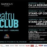 02.02 Teatru de club: CA LA NEBUNI
