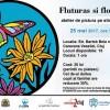 25.05 Fluturas si floricele – Atelier de pictura pe sticla pentru copii