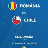 13.06 Meci de fotbal: România – Chile