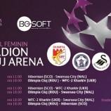 22.08 Fotbal Feminin pe Cluj Arena