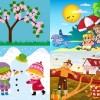 8.10 Spectacol pentru copii: Anotimpurile