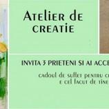28.02 Atelier de creatie: Felicitari si brose