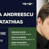 16.03 Concert simfonic – dirijor Horia Andreescu