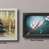 17.04 Atelier de pictura: Zen Pond & Cherry Blossoms